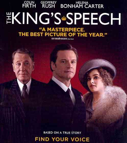 KING'S SPEECH BY FIRTH,COLIN (Blu-Ray)