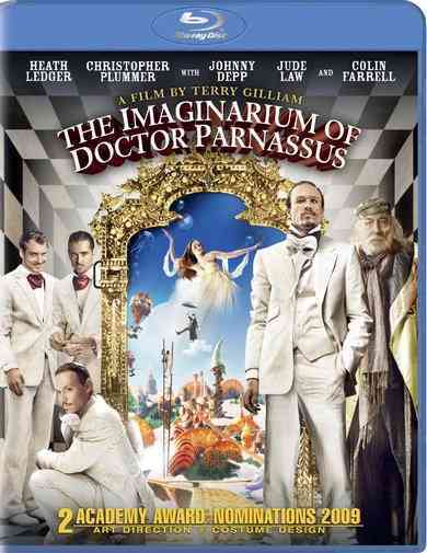 IMAGINARIUM OF DOCTOR PARNASSUS BY DEPP,JOHNNY (Blu-Ray)